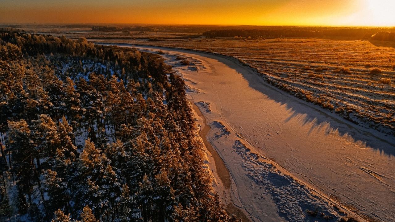 Фотограф показал красоту природы Тверской области