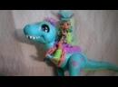 Обзор на девочку Рокелль и динозавр Тайра Cave Club-Пищерный Клуб