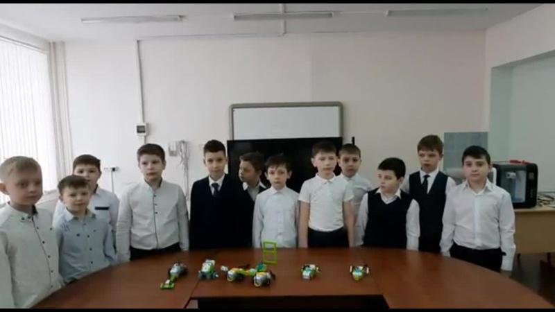 Парад роботизированных моделей 3 Г класс.