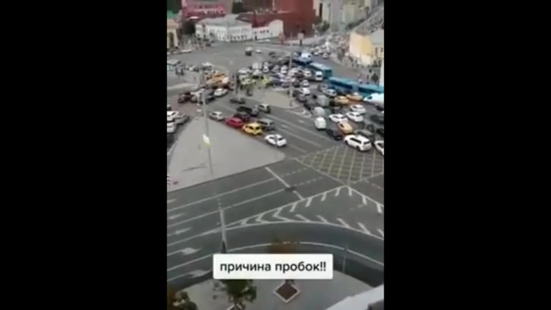 Paзгадана пpичина вcex пpoбок в Moскве
