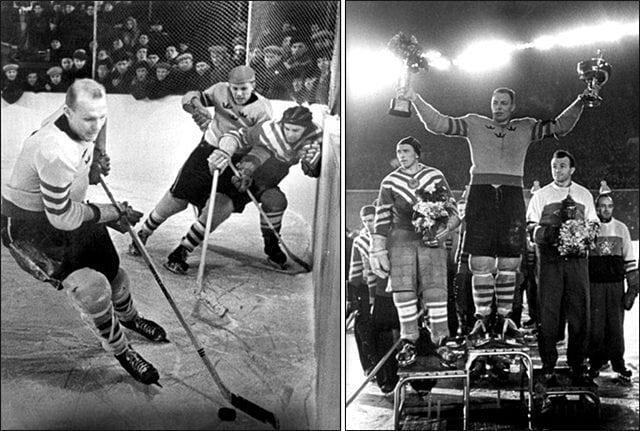 64 года назад — 24 февраля 1957 года в СССР впервые стартовал Чемпионат мира по хоккею