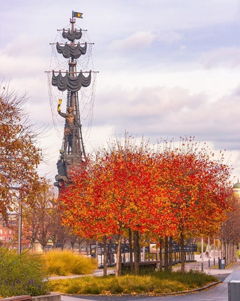 Осенние краски от 📸1fotokot | Instagram#themoscown...
