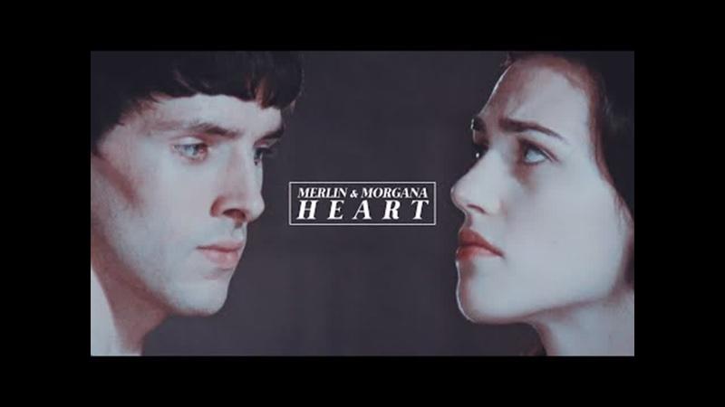 Heart Merlin Morgana *AU*