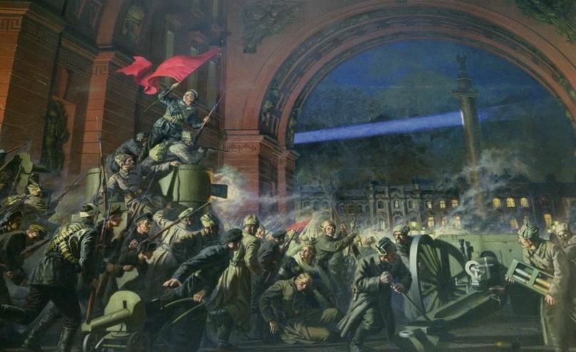 Начало создания Союза Советских Социалистических Республик - новой социальной формы объединения народов
