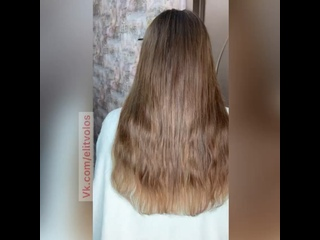 Наращивание русских волос