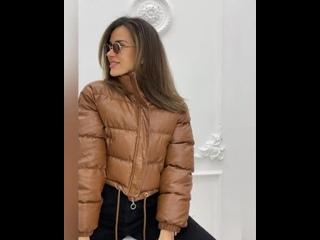 🤍Куртка «Шерил»🤍Цена: 5 490₽❗️Укороченная куртка: по низу проходит регулирующаяся кулиска❗️✔ПРИЯТНЫЙ ПОДАРОК в каждом зака