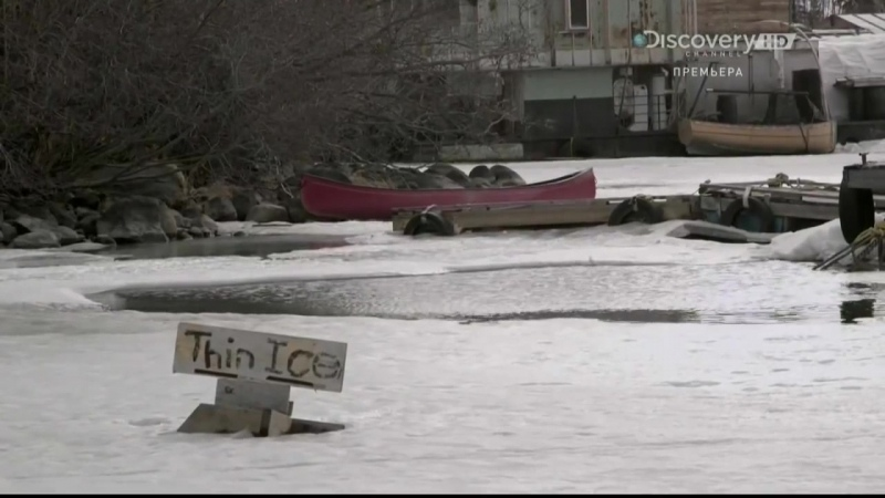 ПРОВАЛИЛИСЬ ПОД ЛЁД Сериал Мятежники ледяного озера Ice Lake Rebels BBC Discovery HD 0001