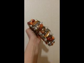 очаровательный ободок из сердолика, чешского хрусталя и брошей. т. 8 908 068 51 68  Viber, WhatsApp