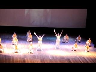 """2016 05 21 Атлантике 30лет. Танец """"Маски"""" (на фоне Херсонеса)."""