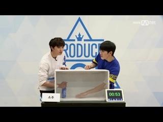 "[SPECIAL] 170405 Миссия ""Скрытая коробка"" @ Yoon Hee Seok vs Yoo Hoe Seung"