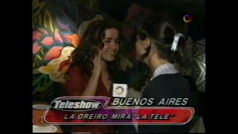 Natalia Oreiro en Teleshow 06-12-1997