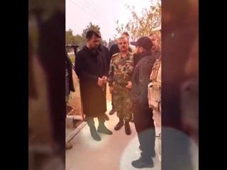 "Бригадир Сухаил Аль-Хасаан ""Тигр"" и команир Ат-Тармах в провинции Хама"