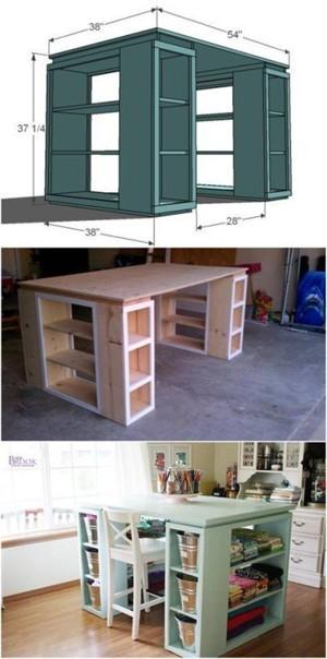 Стол для домашнего мастера.  #мебель@my.stroyka
