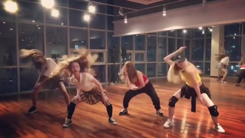 1 Nine Muses practise Inashe Me so bad Choreograph by