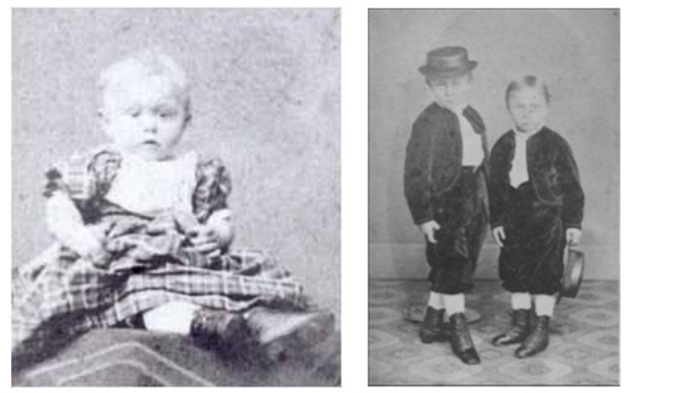 Макс Гендель в детстве / С братом