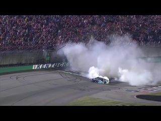 2018 NASCAR Cup Series Burnouts