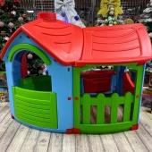 Домик для детей PalPlay (Marian Plast) Вилла 662 с пристройкой.