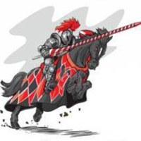 """Логотип Конно-трюковая группа """"Боевой конь"""""""