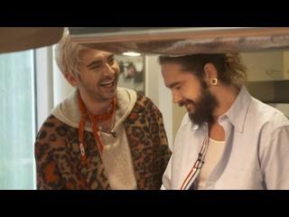 Kaulitz Twins at Ronald McDonald Haus -