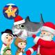 Литл Бэйби Бам Детские Стишки - Акула Рождество
