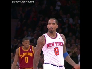 J.R. Smith crossover on Tristan Thompson