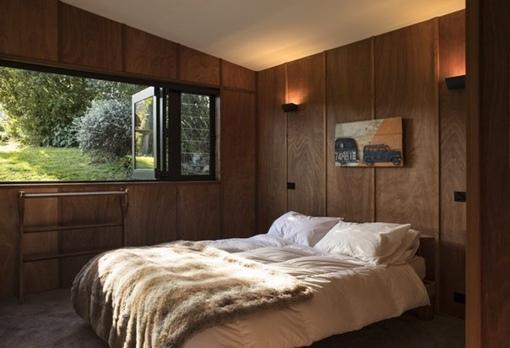 Дом со cкульптурной леcтницей в Новой Зеландии