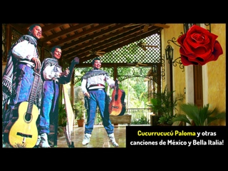 )Cucurrucucú Paloma y otras canciones de México (Los 3 Paraguayos, Luis Alberto del Paraná ...)