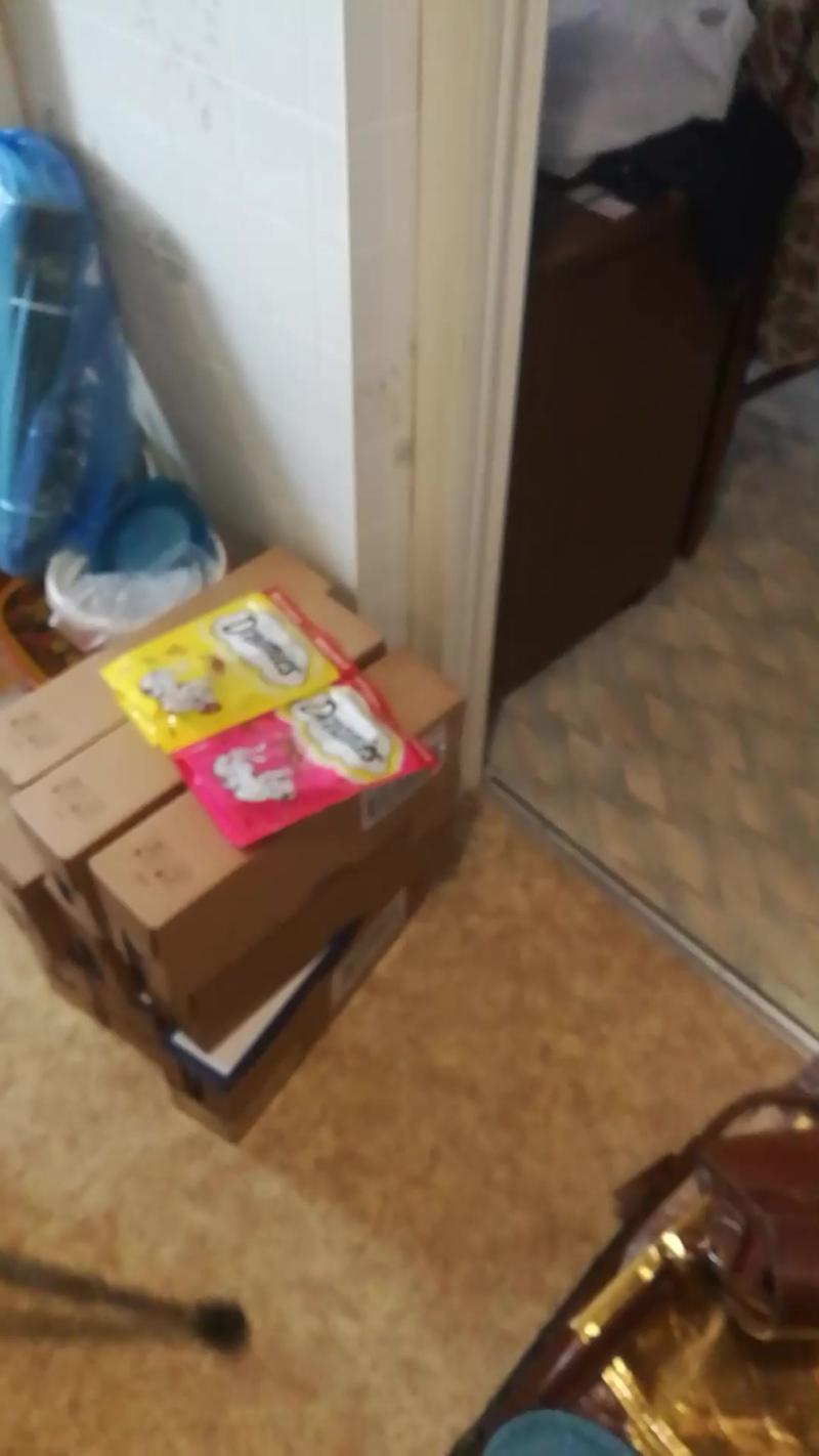 Доставка корма для котов Юзефы 25.04.20