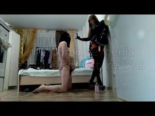Domina Evgenia myslave6 russian mistress spit strapon faceslapping bootfetish femdom русская госпожа фемдом унижения humiliation