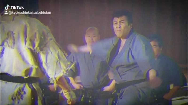 Филмь из кадра Воин Ветра про Основатель Кёкушинкай Каратэ ■