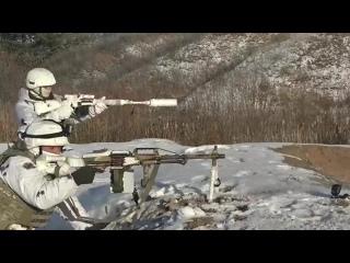 Тренировка спецназа в Самарской области.