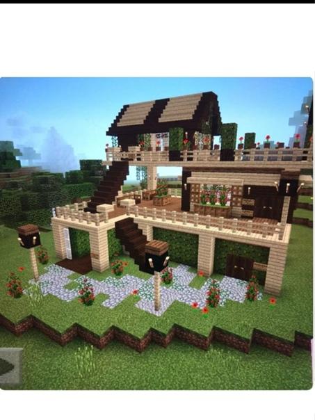 картинки красивых домов в майнкрафте #4