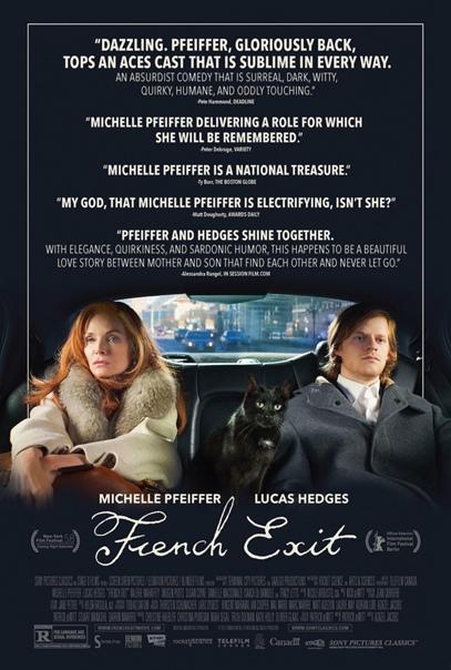 Мишель Пфайффер и Лукас Хеджес на первом постере трагикомедии «Уйти по-французски»
