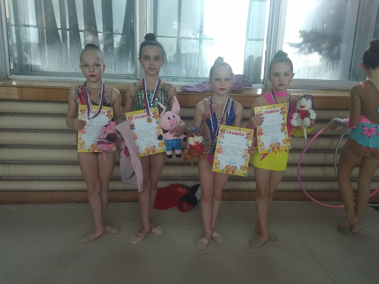 Гимнастки из Петровска — победители выездных соревнований
