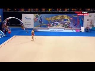 ● Анастасия Симакова - Обруч (финал) / Чемпионат России 2021