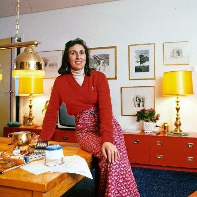 Это Катарина Тайкон (1932-1995) — шведская писательница, автор серии детских кни...