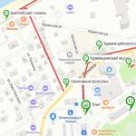 "Карты маршрута ""Зеленоградск. Тур на полдня"" (Яндекс.Карты, для навигатора *.KML)"