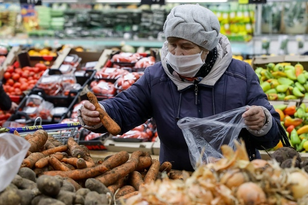 Россиян предупредили о сезонном росте цен на овощи...