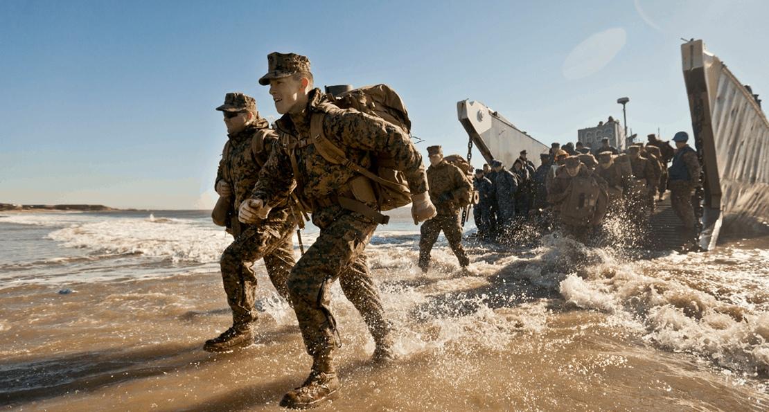Десантники США