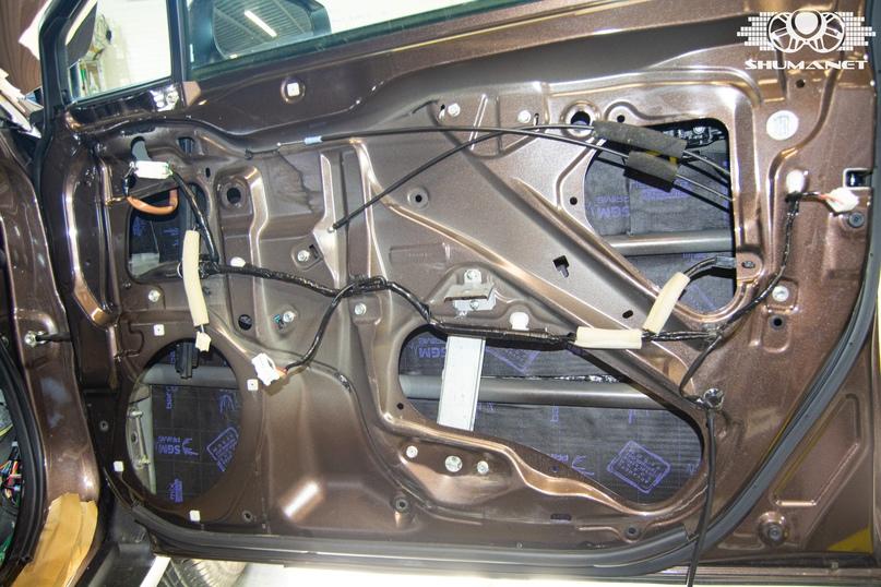 Комплексная шумоизоляция салона Subaru Outback., изображение №12