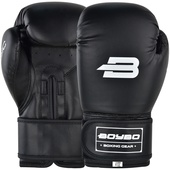 Боксерские перчатки BoyBo Basic Black