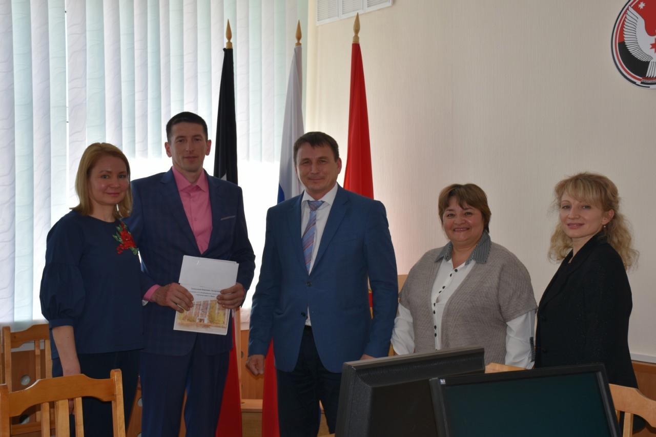 16 апреля Глава района Александр Геннадьевич Васильев
