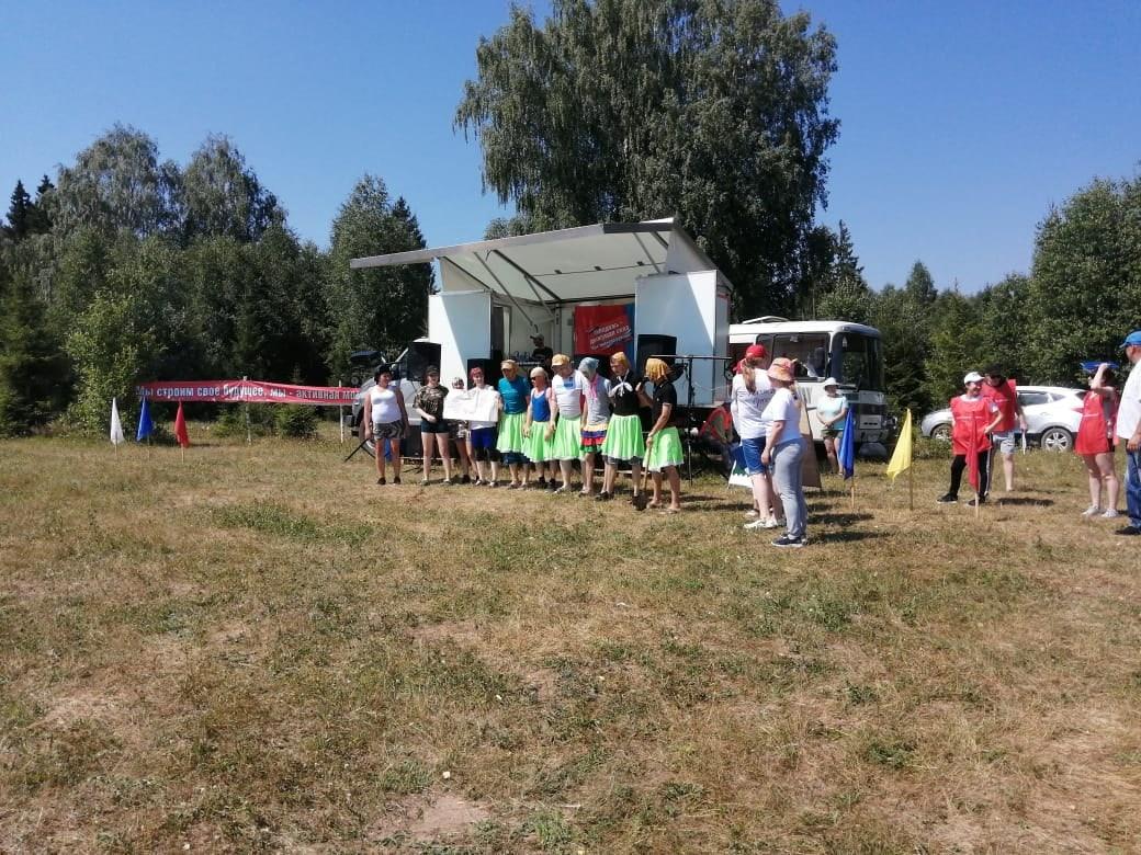 Молодежь Можгинского района отдыхает активно! ♀️♀️26 июня