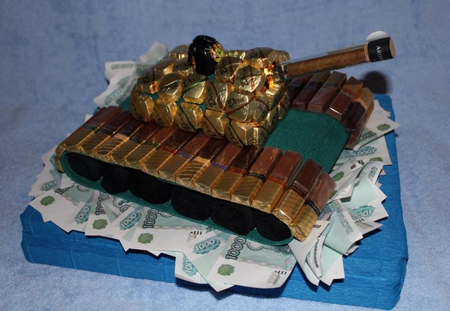 как сделать танк из конфет своими руками пошагово, как сделать боевую машину из конфет своими руками пошагово,
