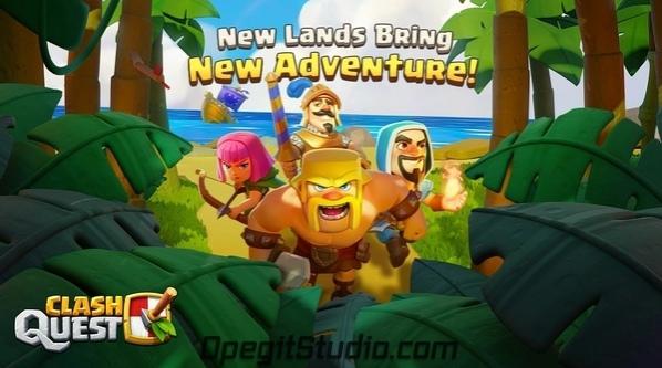 Clash Quest теперь можно скачать и в Филиппинах!