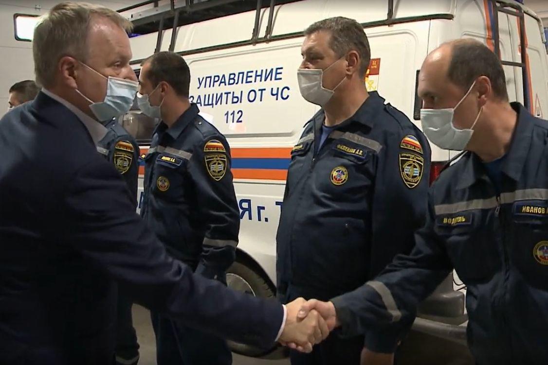 С начала 2021 года таганрогские спасатели более 800 раз приходили на помощь жителям города