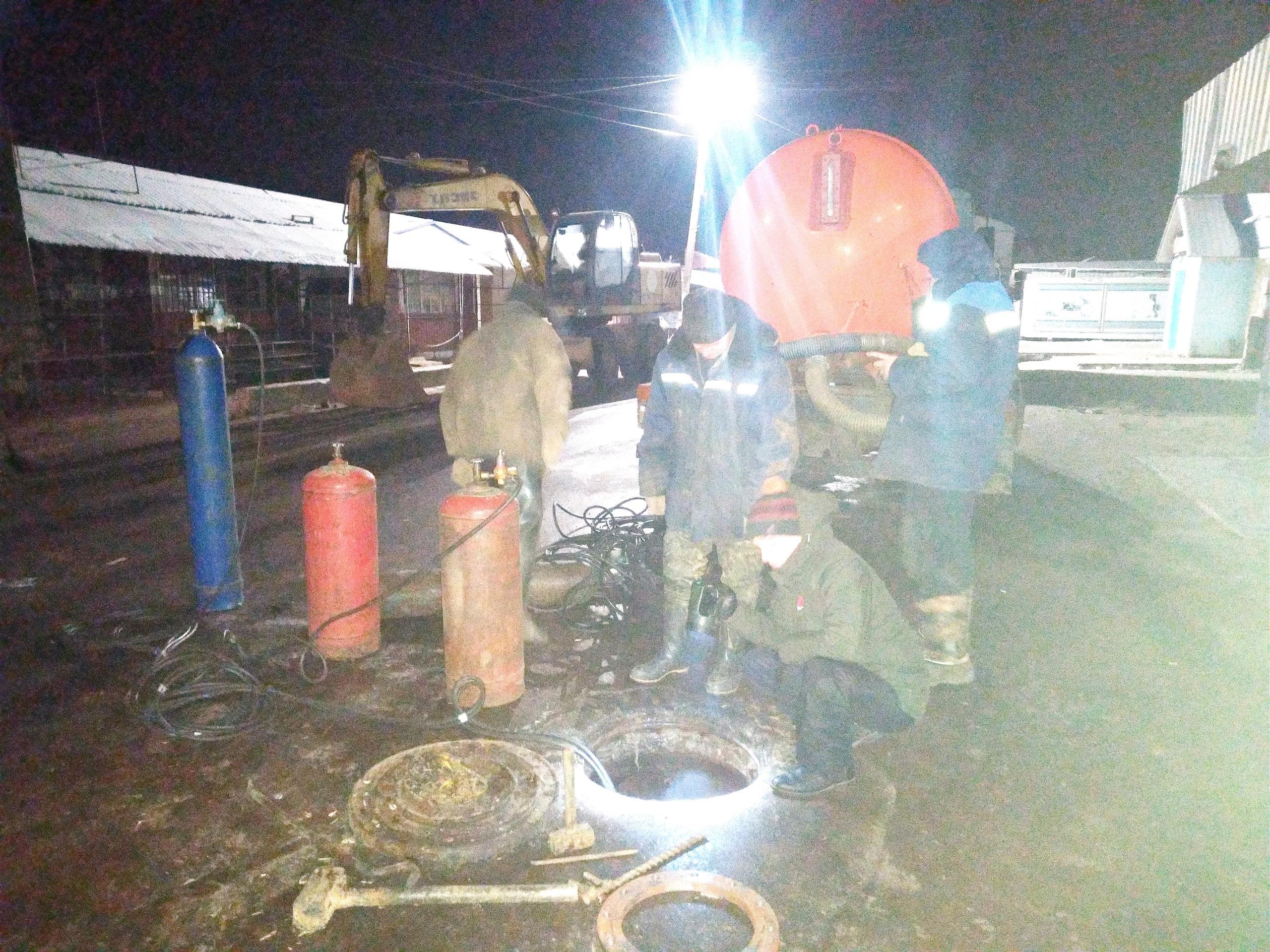 Декабрьской ночью город Кимры остался без холодной и горячей воды