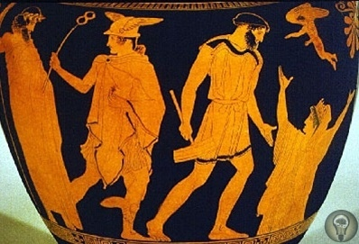 Золотые девы Гефеста В знаменитой Иллиаде Гомера имеется описание загадочных золотых дев, сделанных богом огня Гефестом. Они очень напоминают роботов с искусственным интеллектом. Навстречу ему