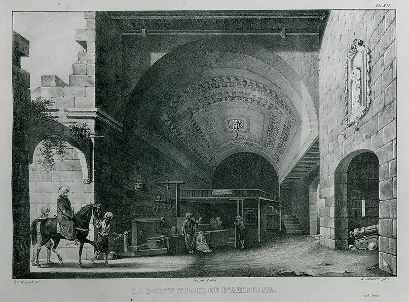 Амбуазские ворота, 1830г