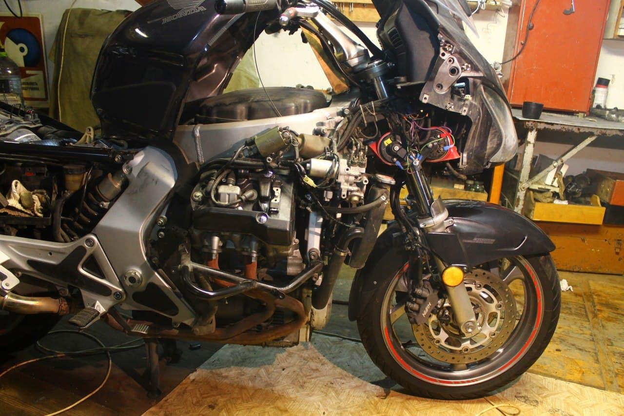 Опыт эксплуатации Honda ST1300 Pan European ABS (2006)